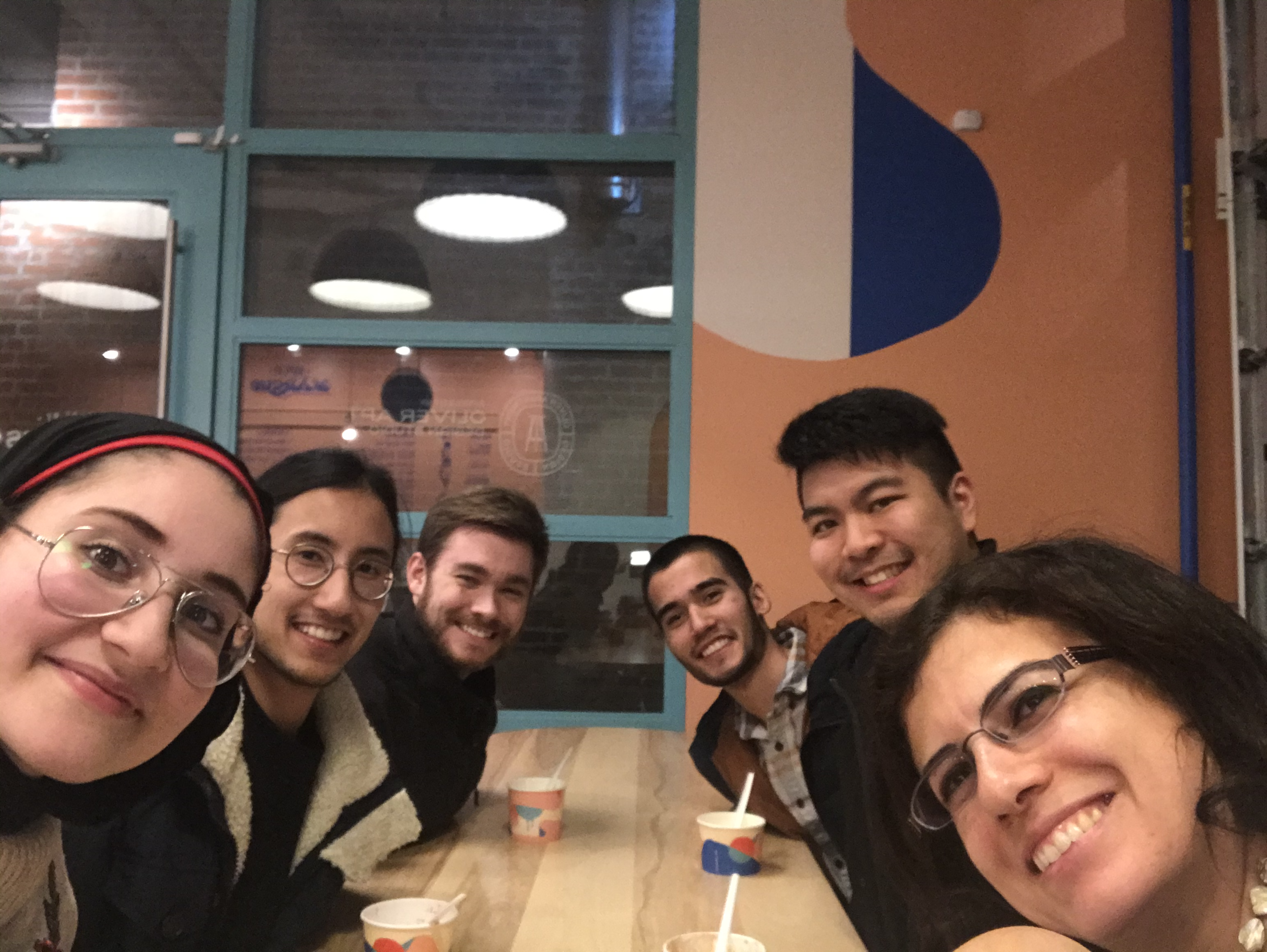 Group Ice Cream Outing, November 2019